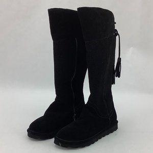 BearPaw | Women's Tall Lined Boots | Black
